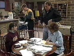 Cody Willis, Adam Willis, Doug Willis, Pam Willis in Neighbours Episode 1272