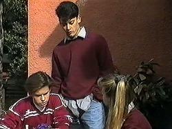Todd Landers, Josh Anderson, Melissa Jarrett in Neighbours Episode 1272
