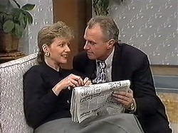Beverly Marshall, Jim Robinson in Neighbours Episode 1272