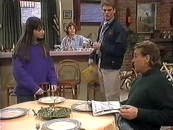 Cody Willis, Pam Willis, Adam Willis, Doug Willis in Neighbours Episode 1273
