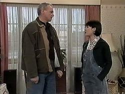 Jim Robinson, Kerry Bishop in Neighbours Episode 1274