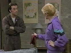 Matt Robinson, Madge Bishop in Neighbours Episode 1274