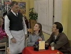 Harold Bishop, Gemma Ramsay, Matt Robinson in Neighbours Episode 1274