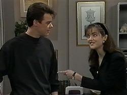 Paul Robinson, Caroline Alessi in Neighbours Episode 1274