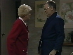 Madge Bishop, Harold Bishop in Neighbours Episode 1274