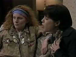 Amber Martin, Kerry Bishop in Neighbours Episode 1274