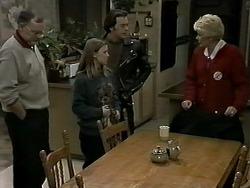 Harold Bishop, Gemma Ramsay, Matt Robinson, Madge Bishop in Neighbours Episode 1275
