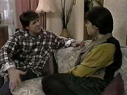 Joe Mangel, Kerry Bishop in Neighbours Episode 1275
