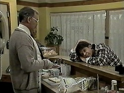 Harold Bishop, Joe Mangel in Neighbours Episode 1275