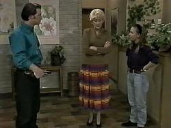 Matt Robinson, Madge Bishop, Gemma Ramsay in Neighbours Episode 1275