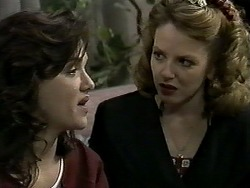 Christina Alessi, Melanie Pearson in Neighbours Episode 1276