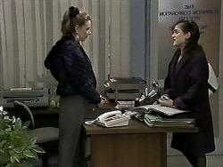 Melanie Pearson, Christina Alessi in Neighbours Episode 1276