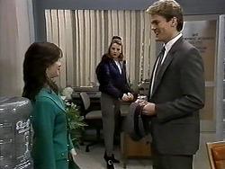Caroline Alessi, Melanie Pearson, Adam Willis in Neighbours Episode 1277