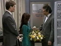 Adam Willis, Caroline Alessi, David Morcambe in Neighbours Episode 1277