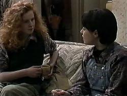 Amber Martin, Kerry Bishop in Neighbours Episode 1277