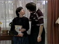Kerry Bishop, Joe Mangel in Neighbours Episode 1277