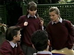 Todd Landers, Cody Willis, Josh Anderson, Melissa Jarrett in Neighbours Episode 1277