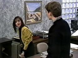 Caroline Alessi, Adam Willis in Neighbours Episode 1277