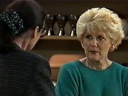 Dorothy Burke, Madge Bishop in Neighbours Episode 1278