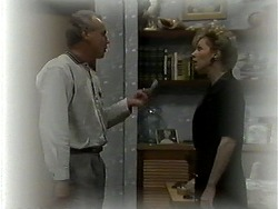 Jim Robinson, Beverly Marshall in Neighbours Episode 1278