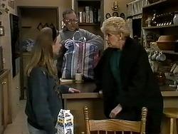 Gemma Ramsay, Harold Bishop, Madge Bishop in Neighbours Episode 1278