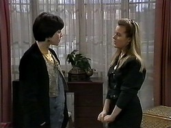 Kerry Bishop, Melissa Jarrett in Neighbours Episode 1280