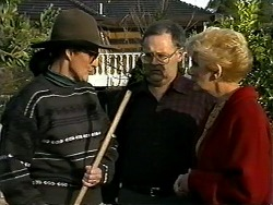 Dorothy Burke, Harold Bishop, Madge Bishop in Neighbours Episode 1280