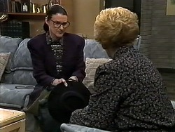 Dorothy Burke, Madge Bishop in Neighbours Episode 1280