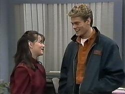 Caroline Alessi, Adam Willis in Neighbours Episode 1284