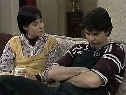 Kerry Bishop, Joe Mangel in Neighbours Episode 1284