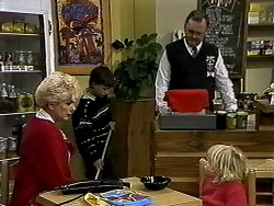 Madge Bishop, Toby Mangel, Harold Bishop, Sky Bishop in Neighbours Episode 1286