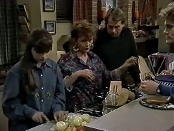 Cody Willis, Pam Willis, Doug Willis, Adam Willis in Neighbours Episode 1286