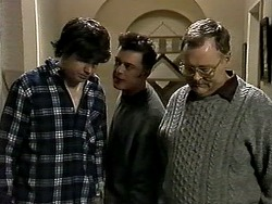 Joe Mangel, Matt Robinson, Harold Bishop in Neighbours Episode 1287