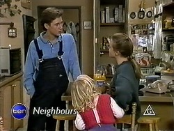 Ryan McLachlan, Sky Mangel, Gemma Ramsay in Neighbours Episode 1287