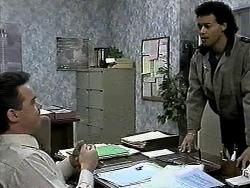 Paul Robinson, Eddie Buckingham in Neighbours Episode 1288