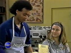 Eddie Buckingham, Gemma Ramsay in Neighbours Episode 1288