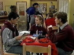 Josh Anderson, Eddie Buckingham, Melissa Jarrett, Ryan McLachlan in Neighbours Episode 1288