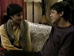 Kerry Bishop, Joe Mangel in Neighbours Episode 1288