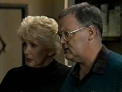 Madge Bishop, Harold Bishop in Neighbours Episode 1288