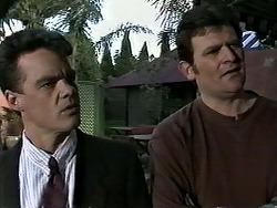 Paul Robinson, Des Clarke in Neighbours Episode 1288