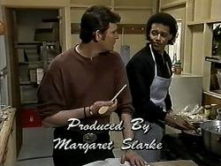 Des Clarke, Eddie Buckingham in Neighbours Episode 1289
