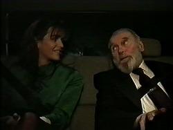 Caroline Alessi, Mr. Patterson in Neighbours Episode 1289