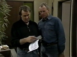Doug Willis, Jim Robinson in Neighbours Episode 1289