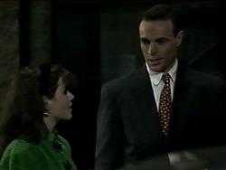 Caroline Alessi, Mr. Smythe in Neighbours Episode 1289
