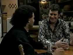 Eddie Buckingham, Des Clarke in Neighbours Episode 1289
