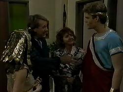Caroline Alessi, Doug Willis, Pam Willis, Adam Willis in Neighbours Episode 1290