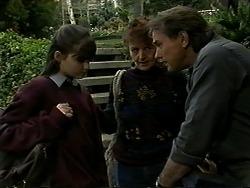 Cody Willis, Pam Willis, Doug Willis in Neighbours Episode 1290