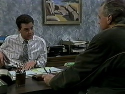 Paul Robinson, Jim Robinson in Neighbours Episode 1290