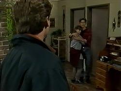 Adam Willis, Cody Willis, Todd Landers in Neighbours Episode 1290