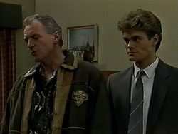 Jim Robinson, Adam Willis in Neighbours Episode 1290